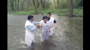 Водно кръщение - църква Ела при Христа