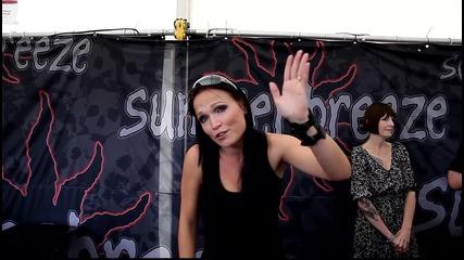 Tarja says Hi