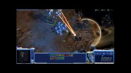 Starcraft 2 Gameplay 2 - Protoss