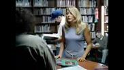 Блондинка в библиотека