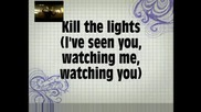 Britney Spears - Kill The Lights - Karaoke