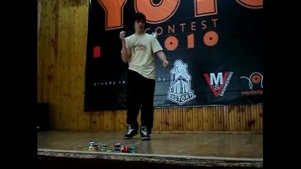 Byyc 2010 - 3 min. freestyle - Румен Тошков