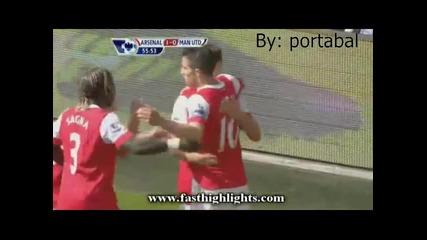 Арсенал - Манчестър Юнайтед 1-0