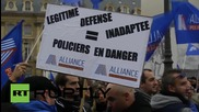 France: Protesting police slam working conditions during Paris demo