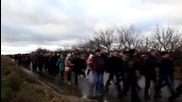 Ukraine: Protesters demand re-location of humanitarian centre to neutral territory