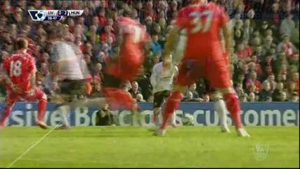 Страхотният гол на Хуан Мата за 2:0 срещу Ливърпул
