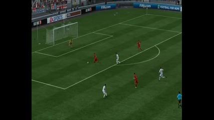 Cтрахотен гол на фифа 11 - by Chelsea