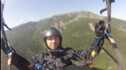 Flying in the sky - Paragliding