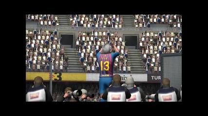 Pes 2012 - Представяне като футболист на Барселона
