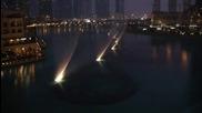 Фонтаните в Дубай танцуват в чест на Whitney Houston - I Will Always Love You