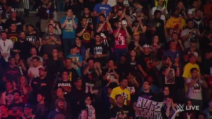 Neville vs. Curtis Axel - Raw, March 30, 2015
