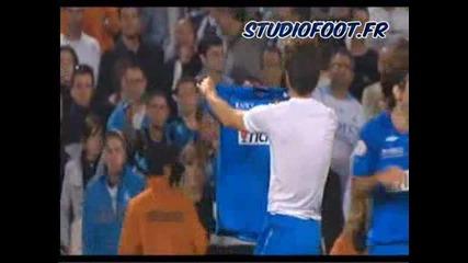 Marseille Vs. Lyon 1 - 3 Juninho Супер Гол 17.05.2009