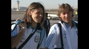 Пристигането на Аржентина в Южна Африка