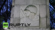 Poland: Monument to soldiers who died fighting Nazis vandalised by nationalist