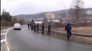 Протест заради цените на млякото