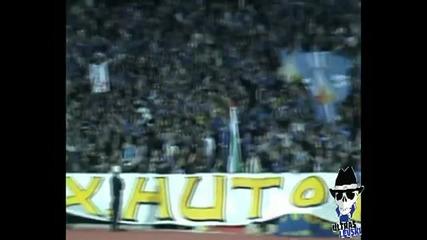 Levski Sofia Ultras, season 2009/2010, 1st half