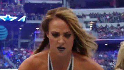 Team Total Divas Vs. Team B.a.d & Blonde | Wrestlemania 32