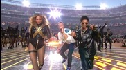 Super Bowl 2016 Halftime Show - Coldplay & Bruno Mars & Beyonce