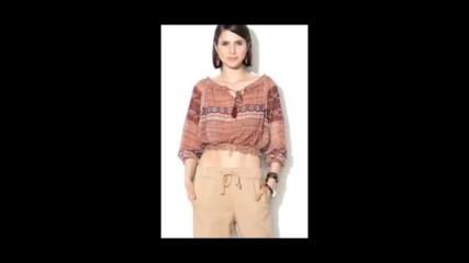 Zee Lane Denim Цветна блуза тип туника с етно шарка