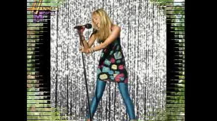 Сладки снимчици на Hannah Montana