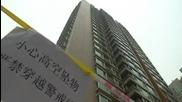Вила построена на върха на 26 етажна жилищна сграда в Пекин