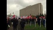 Протест на опозицията в Украйна