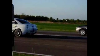 Drag Racing Lancia Delta power sport vs Fiat Coupe racing