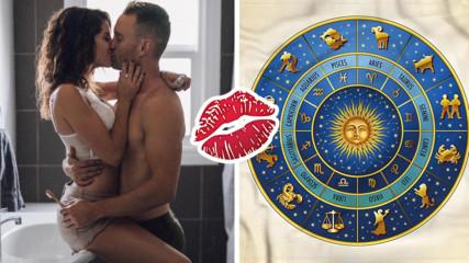 Кои са топ 5 на най-добре целуващите се зодии?