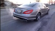 Mercedes Cls63 Amg Exhaust Sound 5.5 V8 Bi-turbo