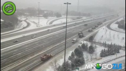 Как се чистят магистралите в Канада