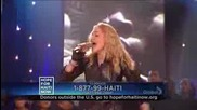 Madonna - Like a prayer (live in New York) Performance for Haiti