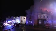 Germany: Huge blaze rips through planned refugee centre in Bautzen