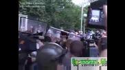 Жесток бой на Армията заради Томов !!!