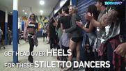 Стилето танци на токчета