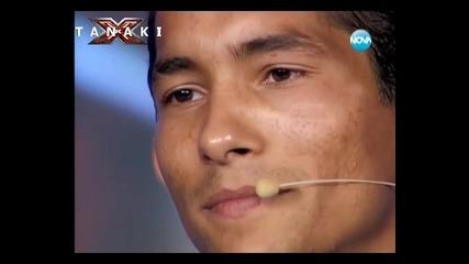 Историята ще ви разплаче , изпълнението ще ви разтърси - X - Factor България 14.09.11