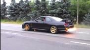 Ускорение на Nissan Skyline Gtr R33