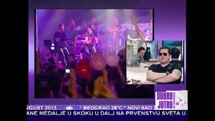 Aco Pejovic - Gostovanje u Jutarnjem programu - (TV Pink 06.08.2013)