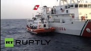 Italy: 90 migrants picked up from Mediteranean sea
