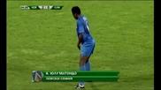 Юлу Матондо играе Кючек -след гола му срещу Сливен