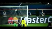 Двата гола на Луис Суарес срещу Пари Сен Жермен