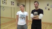 Dancing Stars - Подготовката на Антон и Дорина 15.03.2014г.