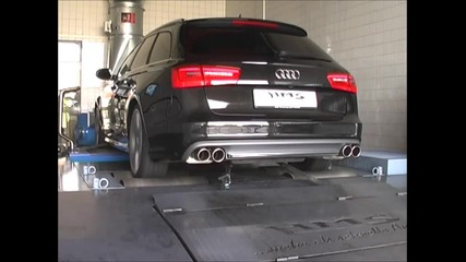 Audi S6 2012 звук!