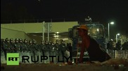 Serbia: Hungarian riot police remain at border following earlier clashes