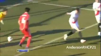 Великолепен гол с пета на Кристиано Роналдо !