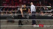 Miz Tv - Напрежение между Оуенс и Цезаро - Raw 03.08.2015