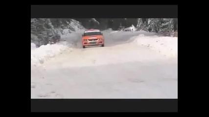 Dimitar Iliev snow driving - Evo 9