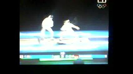 Финал На Олимпядата В Пекин 2008г.(рапира)