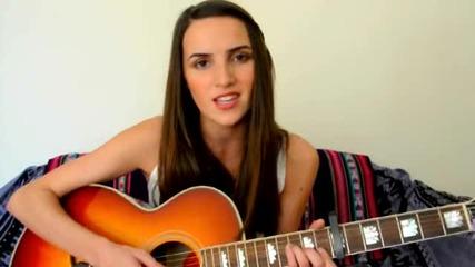 Красиво момиче пее Cry Me a River на Justin Timberlake