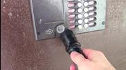 Ето как да влезете в сграда с електронно заключване