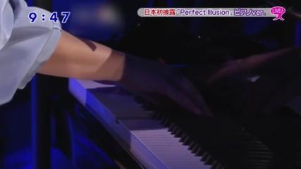 Lady Gaga - Perfect Illusion (live in Tokyo Piano Version, 02.11.2016)